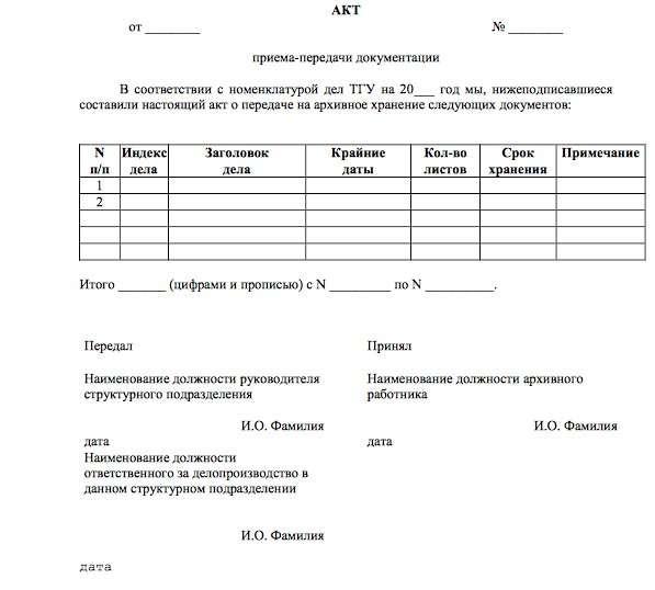 Подготовка и передача документов в архив на хранение и уничтожение где можно сдать тюмени макулатура